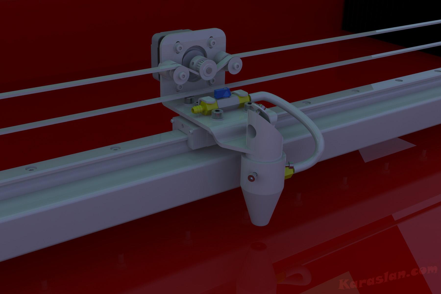 co2 lazer kesim makinası